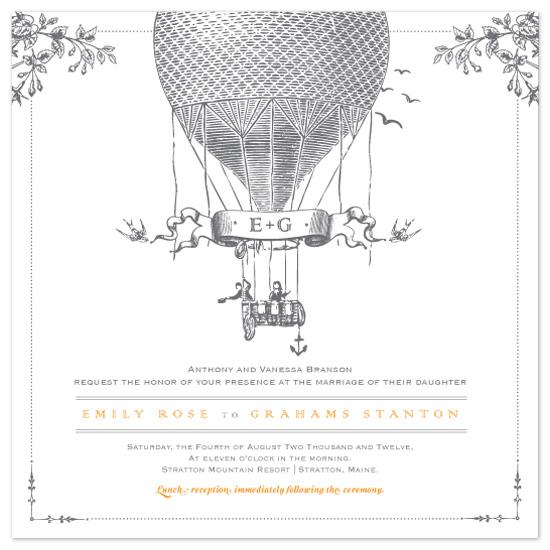 wedding invitations - Up! by Raquel Salaro