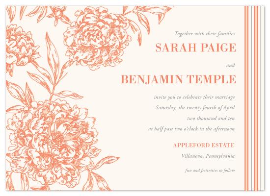 wedding invitations - Secret Garden by Milkmaid Press