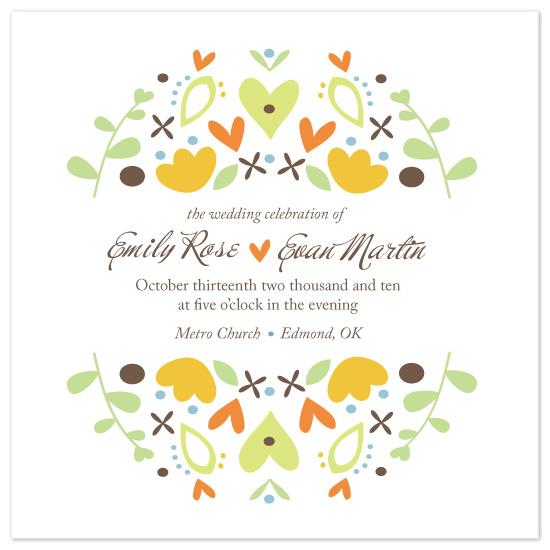 wedding invitations - Hem ljuva Hem by Peek Designs