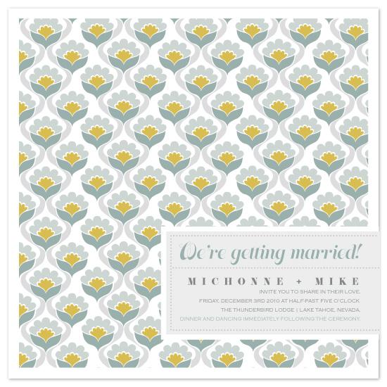 wedding invitations - Wallpaper by Raquel Salaro