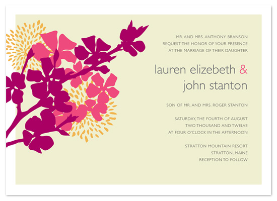 wedding invitations - Simply Summer by The Designerie