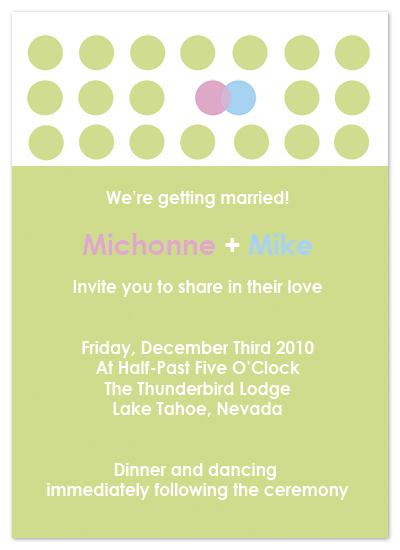 wedding invitations - circle kiss by Elena Kloppenburg