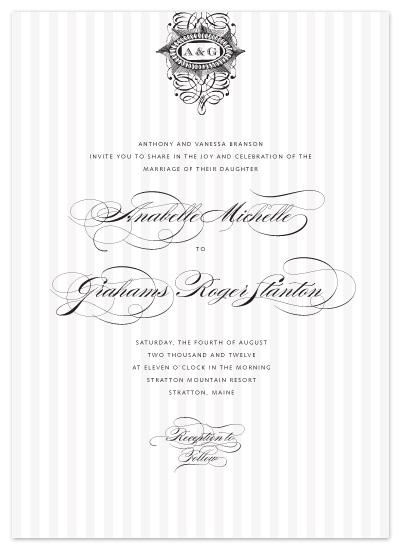 wedding invitations - Gold Coast by The AV Design Factory