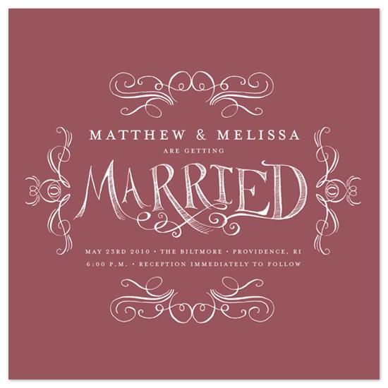wedding invitations - whimsy by pottsdesign