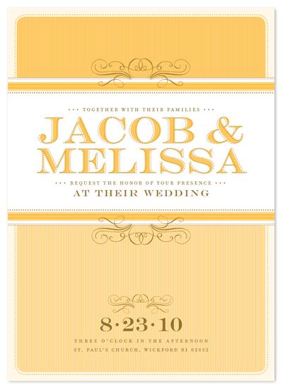 wedding invitations - summer's eve by pottsdesign
