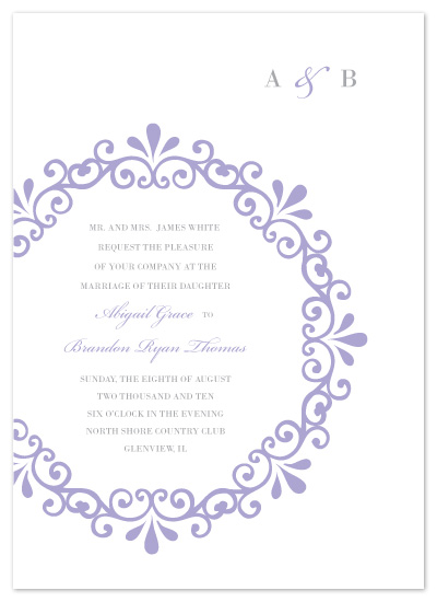 wedding invitations - Trellis by Kimberly FitzSimons