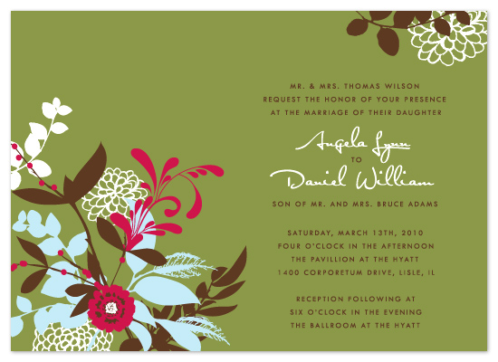 wedding invitations - Angela by Ten26 Design Custom Invitations
