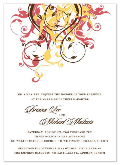 wedding invitations - Briana by Ten26 Design Custom Invitations