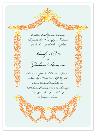 wedding invitations - A Garden Affair by Ariel Rutland