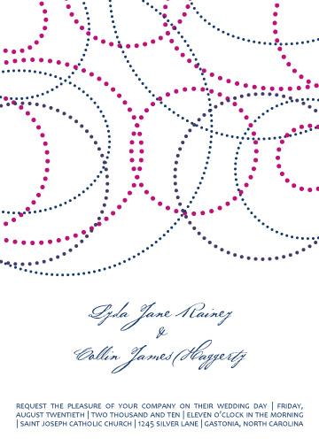 wedding invitations - Concentric Bride by Baci Designer