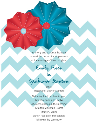 wedding invitations - Paper Sunburst by Jen Wheat