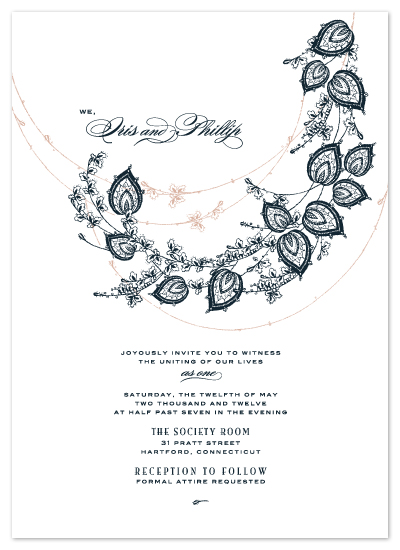 wedding invitations - Unity Bough by Hello & Co.
