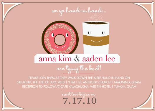 wedding invitations - Sweet Love by Marina D. Valencia