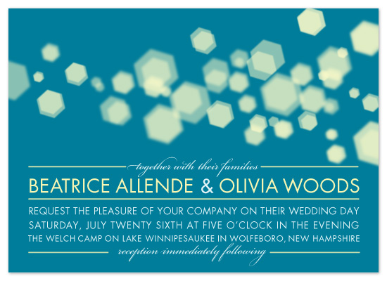 wedding invitations - Twinkle Lights by uphill industries