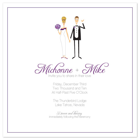 wedding invitations - The Beverlys by Kerry Batty