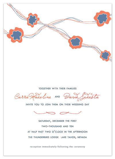 wedding invitations - Modern Matrimony by Sydney Newsom