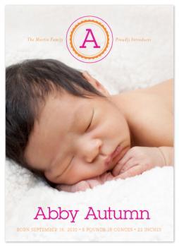 Baby's First Monogram
