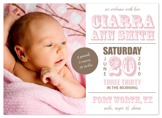birth announcements - Baby Fonts Galore by MelStudio