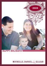 holiday photo cards - Happy Chrismukkah by Oscar & Emma