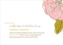 bridal shower invitations - simple sophisticate by Oscar & Emma
