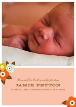 birth announcements - bloom by Oscar & Emma