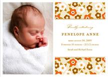 birth announcements - flower child by Oscar & Emma