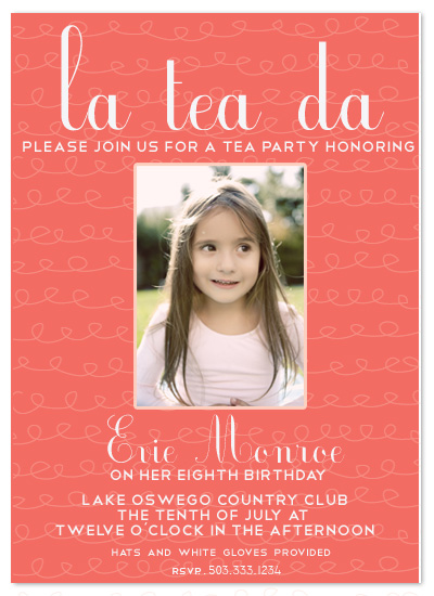 birthday party invitations - Ooh la la by Epitome by Renner Design
