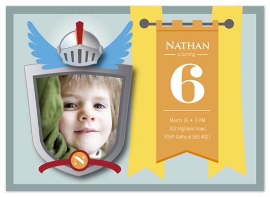 birthday party invitations - A Knight's Birthday by Betta