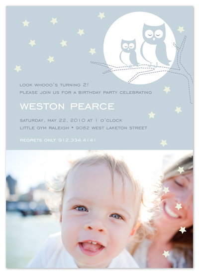 birthday party invitations - Starry Night by Cami