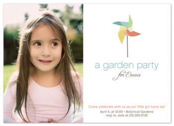Pinwheel Garden Party