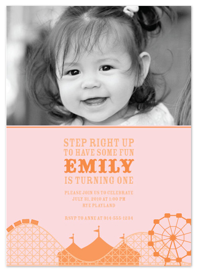 birthday party invitations - Cotton Candy by Annie Holmquist
