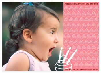 Pink Cupcakes Birthday