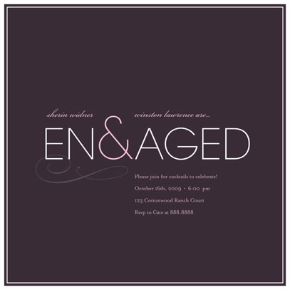 wedding stationery - En&aged by kelli hall