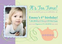 Whirly Twirly Tea Party by Fanny Ann