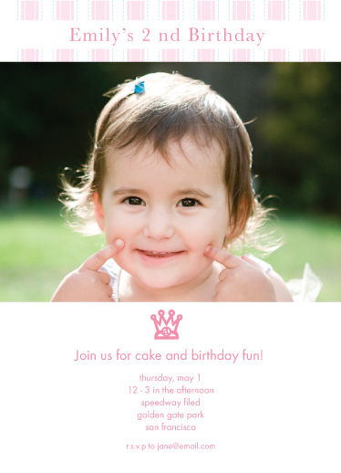birthday party invitations - Princess Birthday Party by Ji Sun Heo
