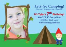 Camping With Gnomes by Fanny Ann