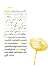 menu cards - modern devotion by Emily Ranneby