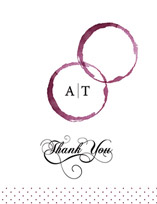 thank you cards - vino by Andrea Mentzer