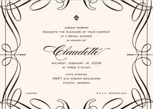 bridal shower invitations - Opera by Cococello