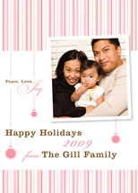 holiday photo cards - Peppermint Spark by Cococello