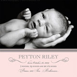 birth announcements - sweet sophistication by Paper Dahlia