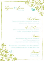 menu cards - s o m e r s e t by Paper Dahlia