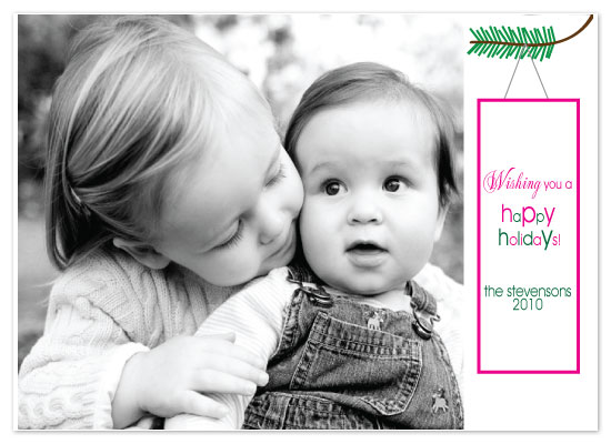 holiday photo cards - Greetings! by Etched