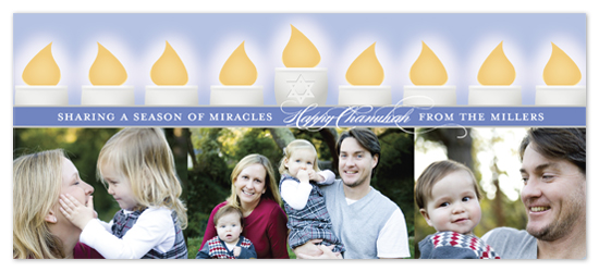 holiday photo cards - Season of Miracles by Noah and Olivia