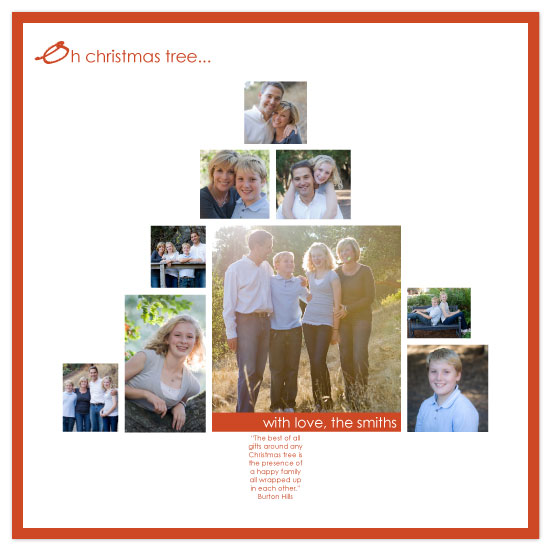 holiday photo cards - Oh Photo Tree by Katie Venti