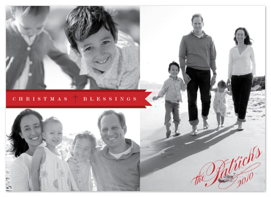 holiday photo cards - Christmas Banner by Design Lotus