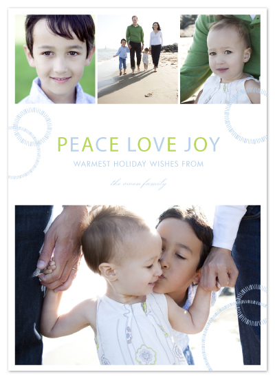 holiday photo cards - sweet snowflake by SimpleTe Design