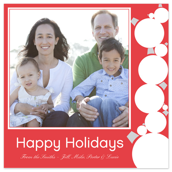 holiday photo cards - Holiday Ornaments by Kerry Batty