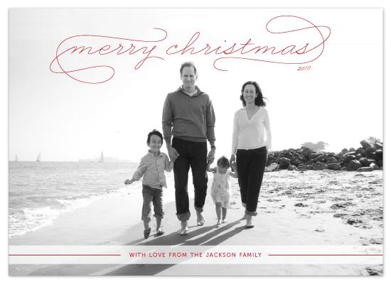 holiday photo cards - Gallery Classic by Sydney Newsom