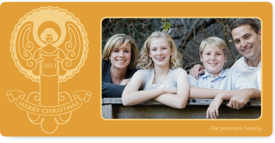 holiday photo cards - halo by Marabou Design